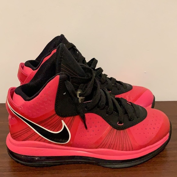 Shoes - Pink & Black Lebron James Sneakers